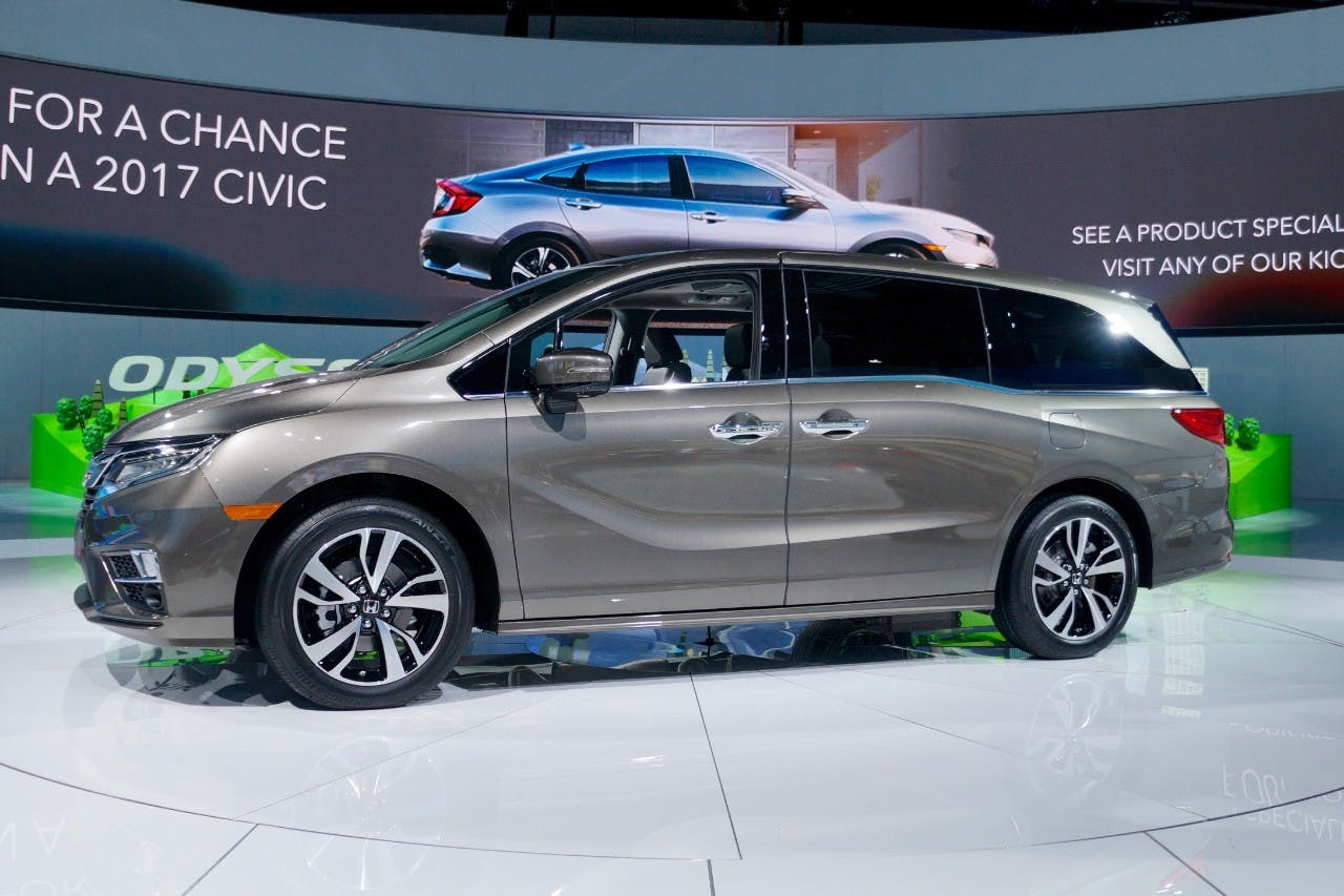 Next-generation 2018 Honda Odyssey Debuts at NAIAS