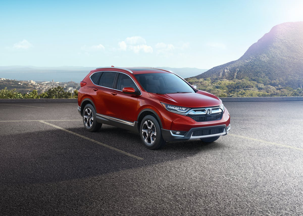 Redesigned 2017 Honda CR-V Gets Injected With Some Civic Magic