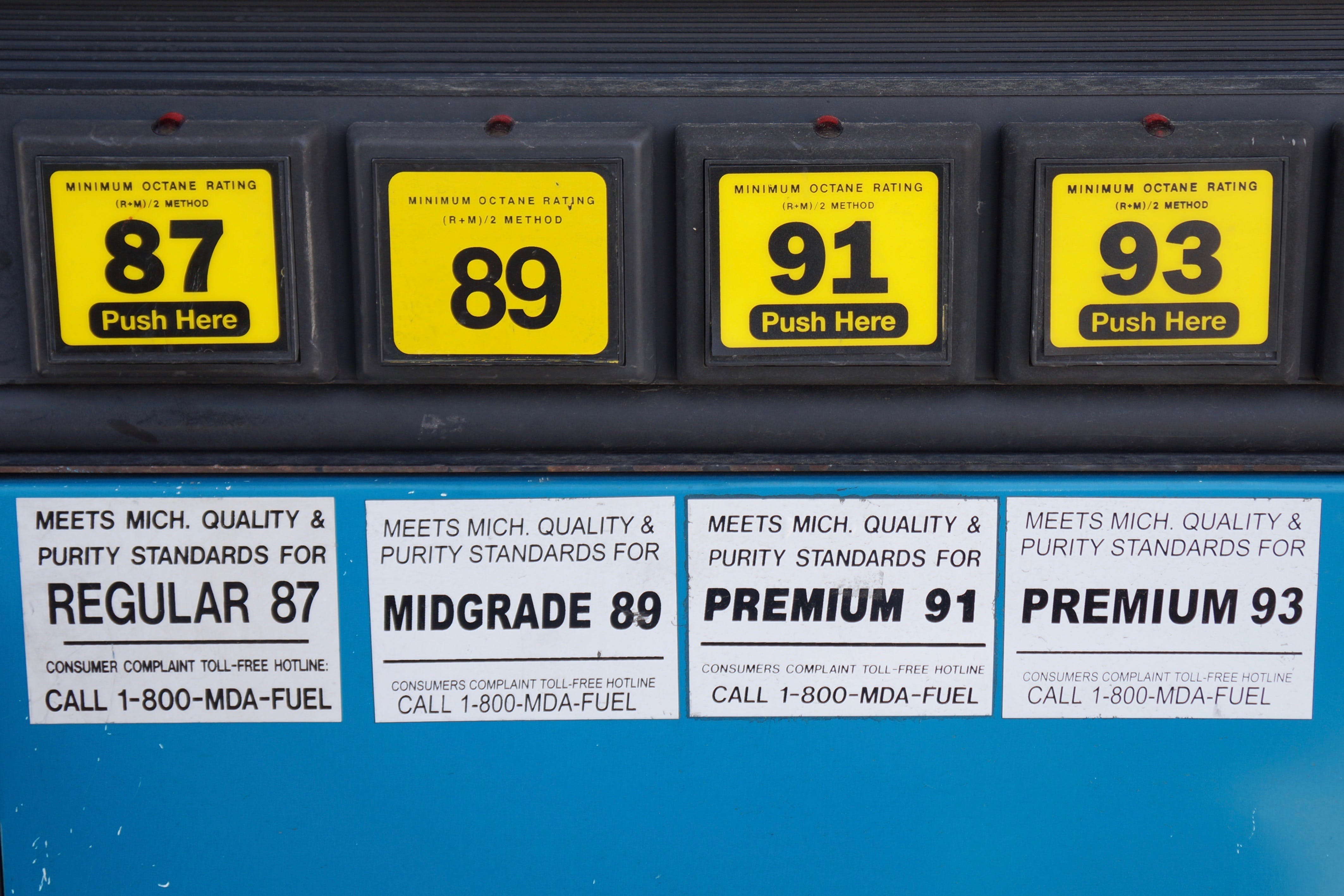 The Difference Between Regular Gas, Premium Gas and Diesel