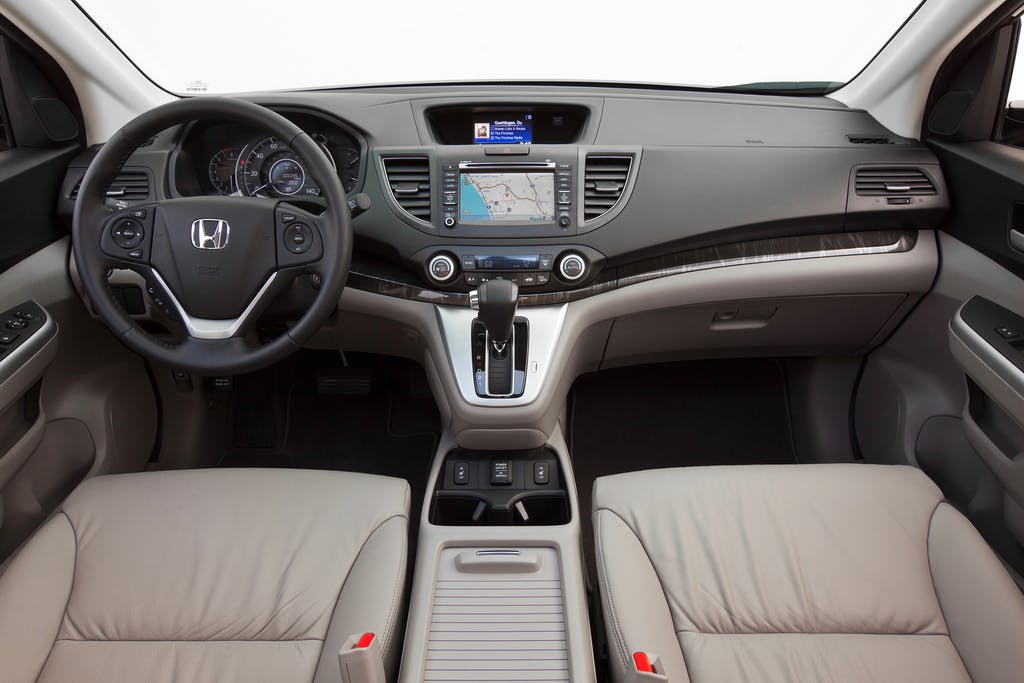 2017 Honda Cr V Ex L Awd Interior