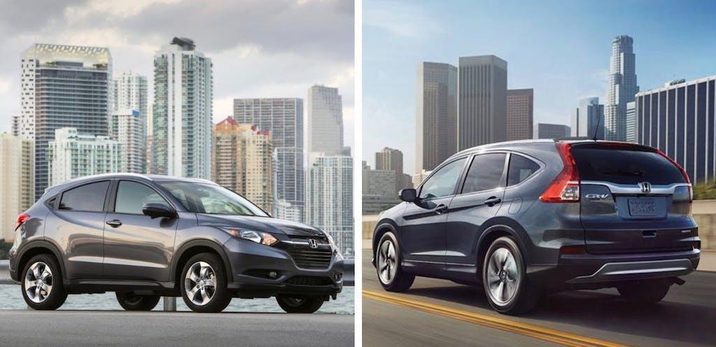 4 Reasons to Buy a Honda HR-V Instead of a CR-V | CARFAX