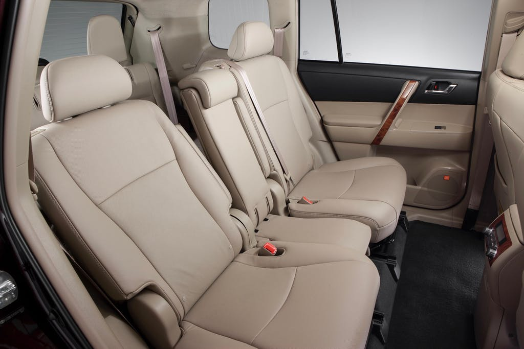 The Standard Center Stow Seating System Toyota Highlander Second Row