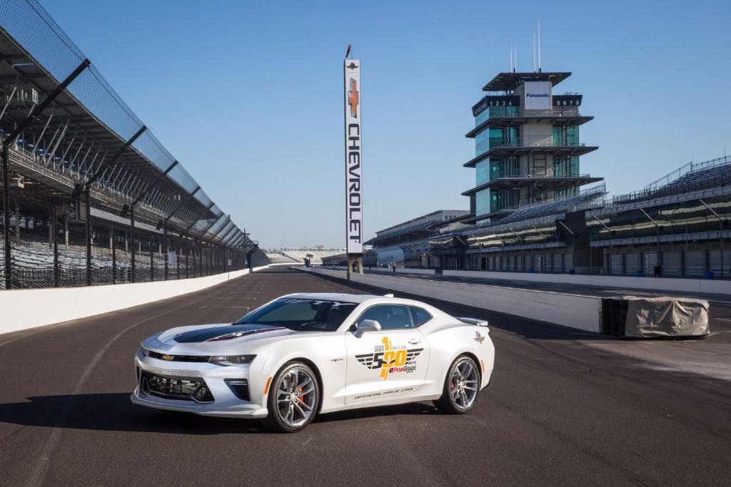 50th Anniversary Camaro SS Will Lead 100th Indy 500 | CARFAX