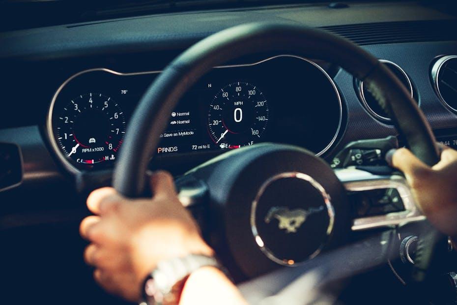 Mustang Digital Gauges