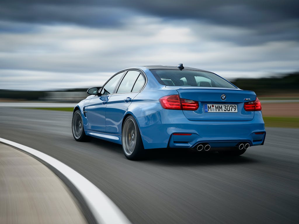 2018 BMW M3 on the Track