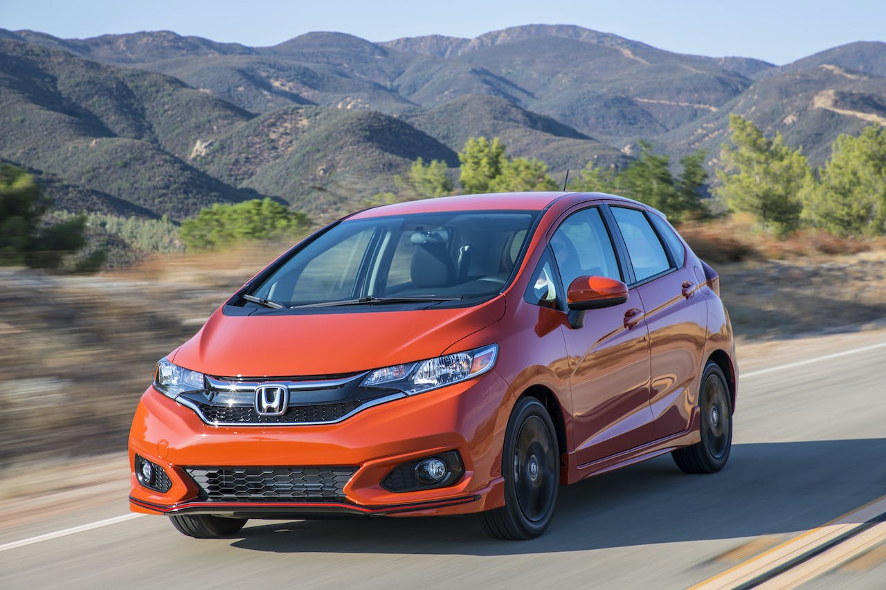 What are the Honda Sensing Technologies in the Honda Fit?