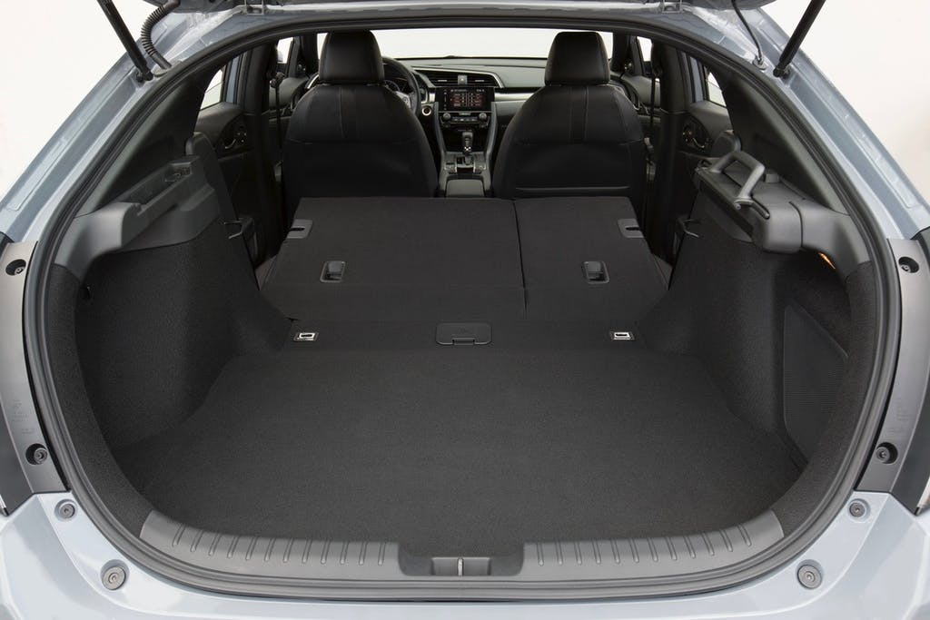 2018 Honda Civic Hatchback's Cargo Space