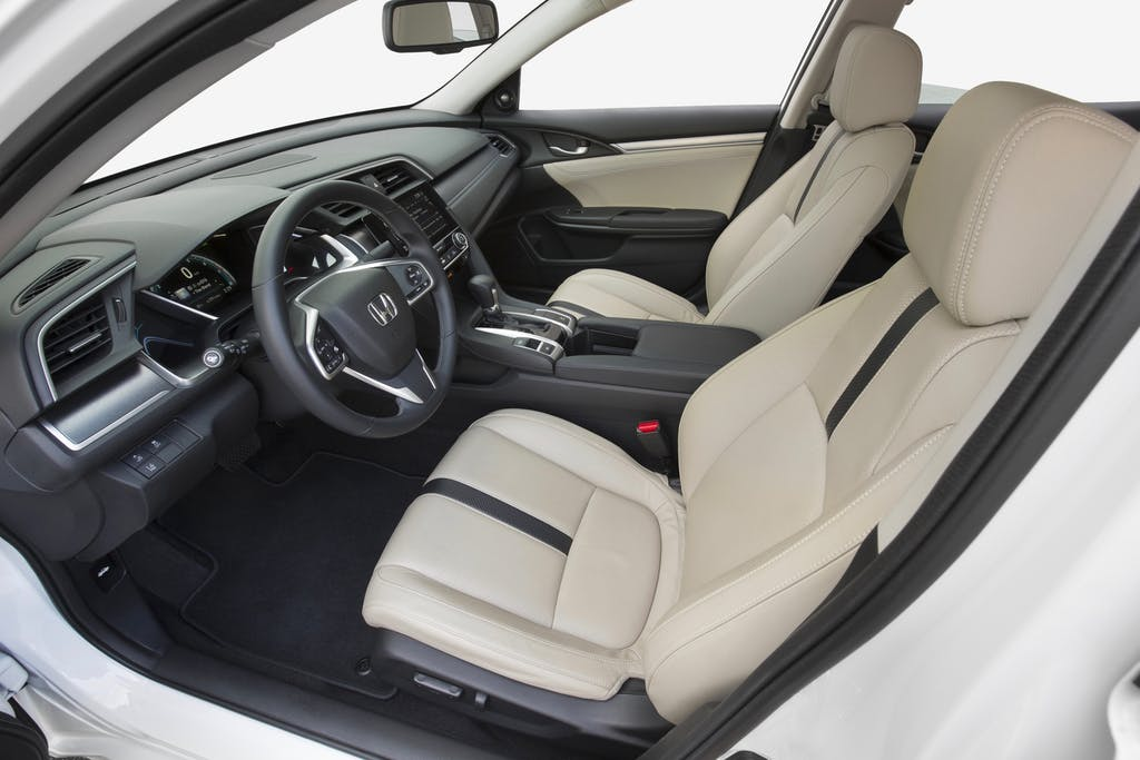 2016 Honda Civic Sedan's Interior