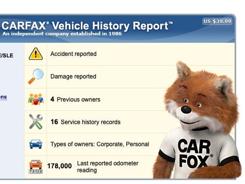 How To Read A Carfax Vehicle History Report Carfax