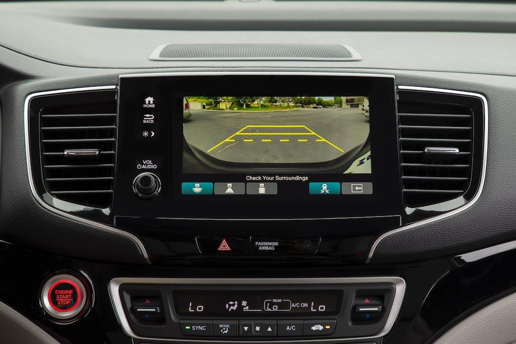 2019 Honda Pilot Elite Sensing Screen