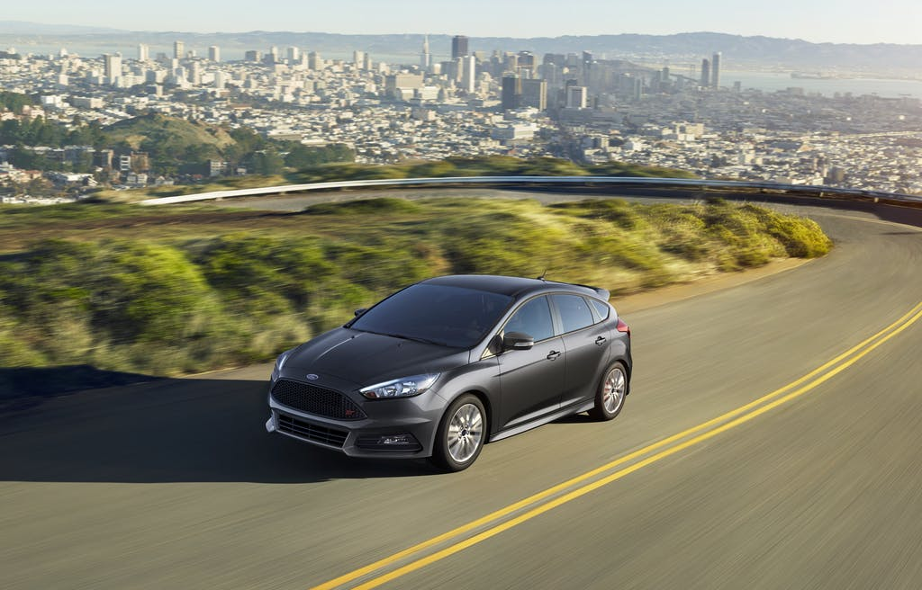 Gray 2016 Ford Focus ST