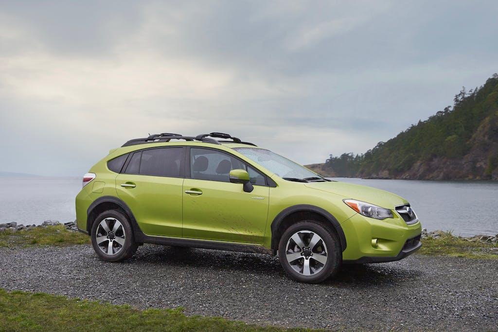 Green Subaru Crosstrek