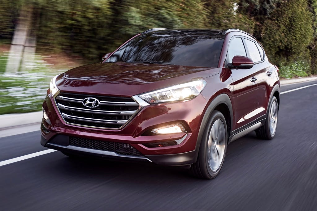 Dark Red 2016 Hyundai Tucson