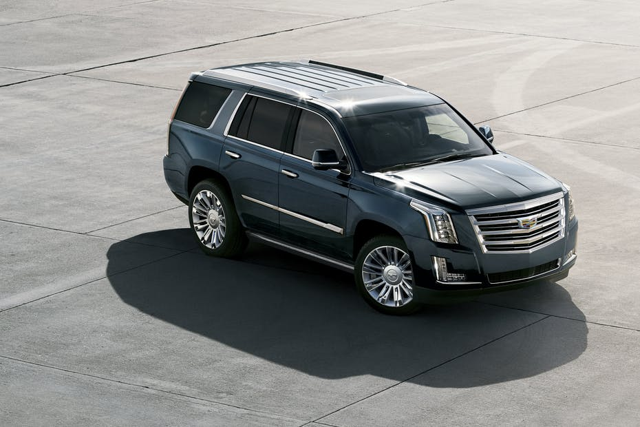 Black 2019 Cadillac Escalade Front Side View