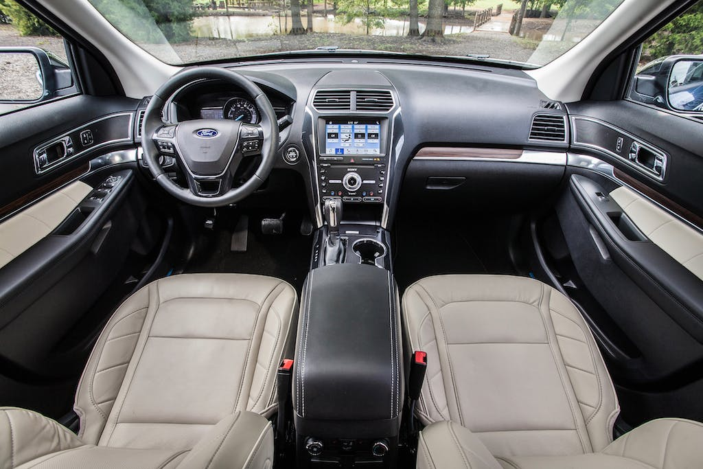 2019 Ford Explorer Limited Luxury Edition Interior