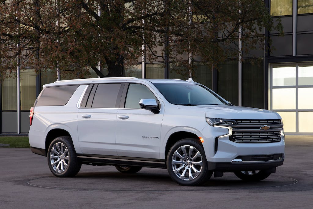 Chevy Traverse Towing Capacity >> Redesigned 2021 Chevrolet Suburban: Key Details | CARFAX