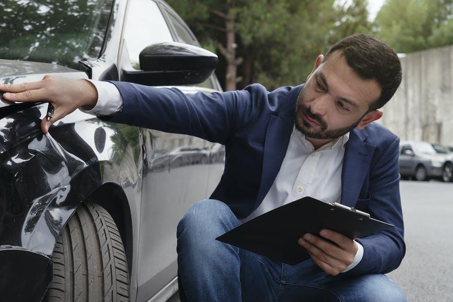 Car, Crash, Examining, Expertise, Insurance