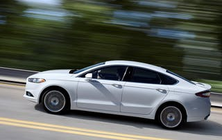 2016 Ford Fusion / Photo Credit: Ford