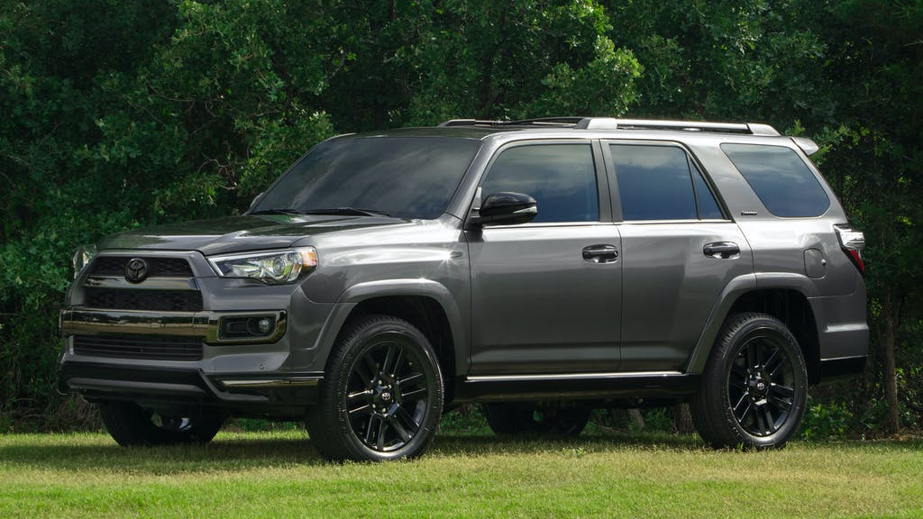 2020 Toyota 4Runner Nightshade Special Edition / Photo Credit: Toyota