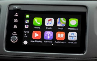Apple CarPlay Home Screen in 2020 Honda HR-V