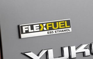 Flex Fuel E85 Badge on 2009 GMC Yukon / Photo Credit: GMC