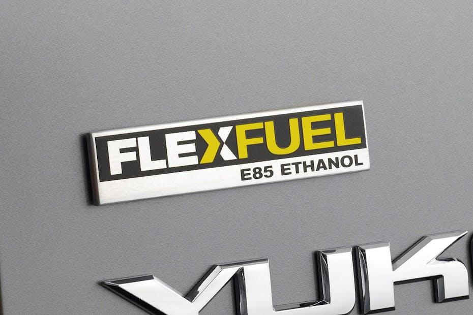 Flex Fuel E85 Badge on 2009 GMC Yukon / Photo Credit: GMC
