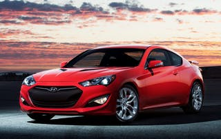 2016 Hyundai Genesis Coupe / Photo Credit: Hyundai