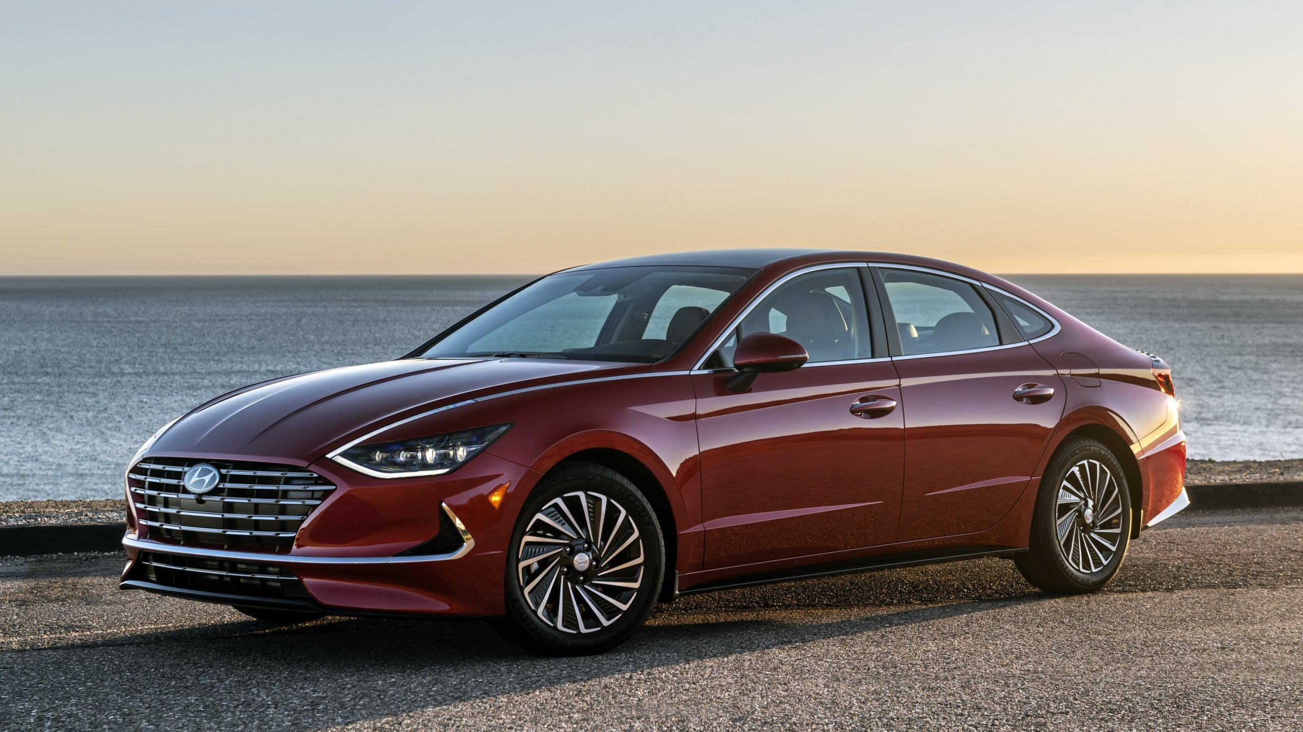 redesigned 2020 hyundai sonata hybrid   test drive review