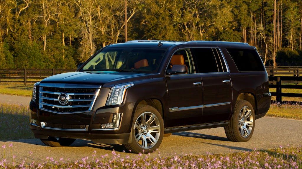 2020 Cadillac Escalade ESV / Photo Credit: Cadillac