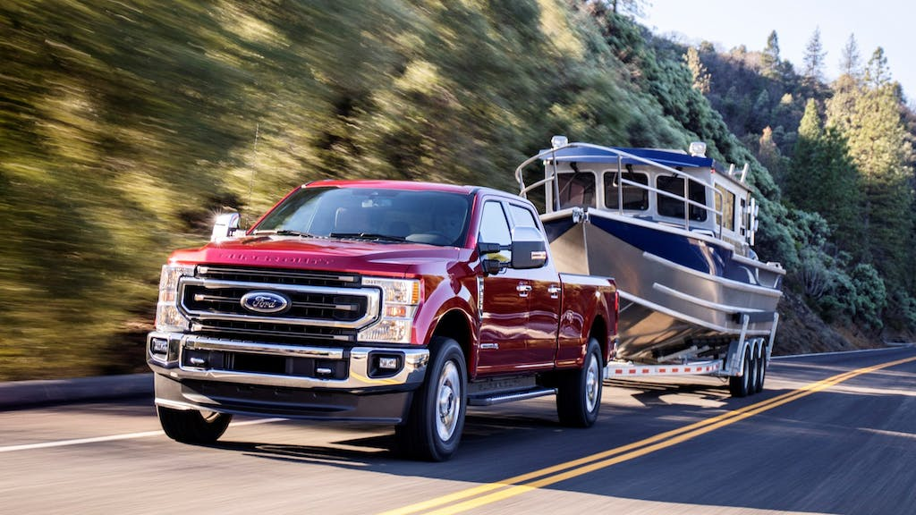 2020 Ford F-250 / Photo Credit: Ford