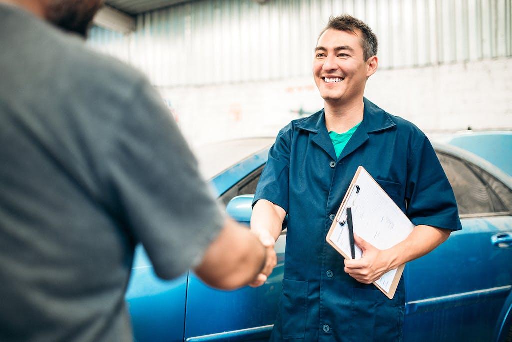 Getting a car appraised
