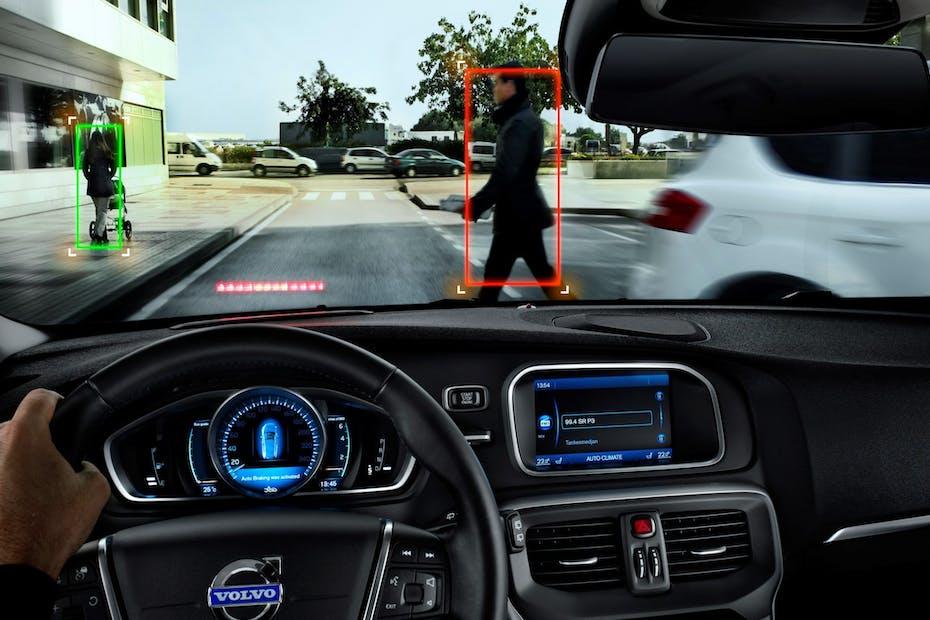 Volvo Pedestrian Detection / Photo Credit: Volvo