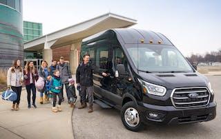 2020 Ford Transit Passenger / Photo Credit: Ford
