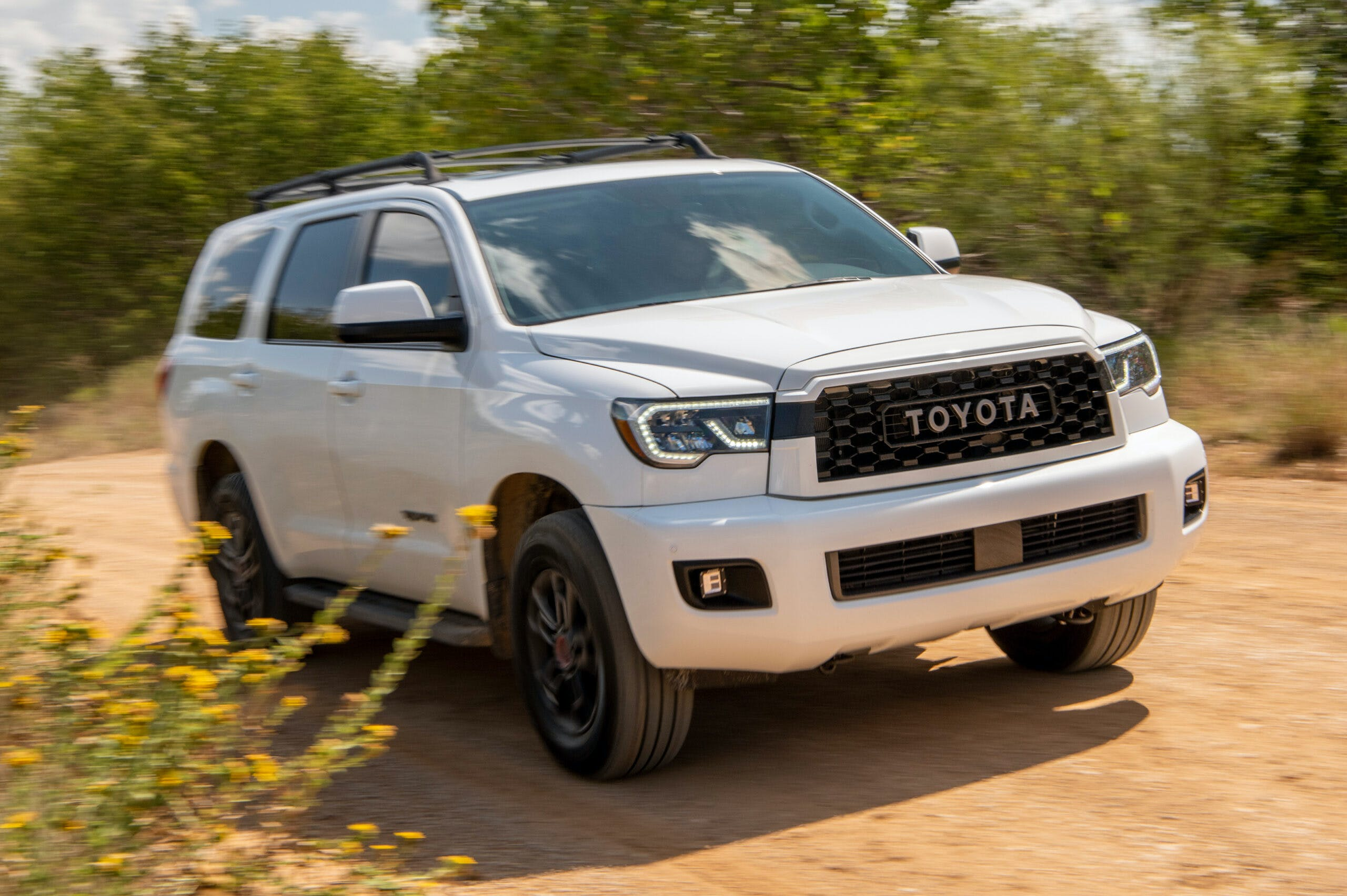 Tested: 2020 Toyota Sequoia TRD Pro Is Fun but Dated | CARFAX