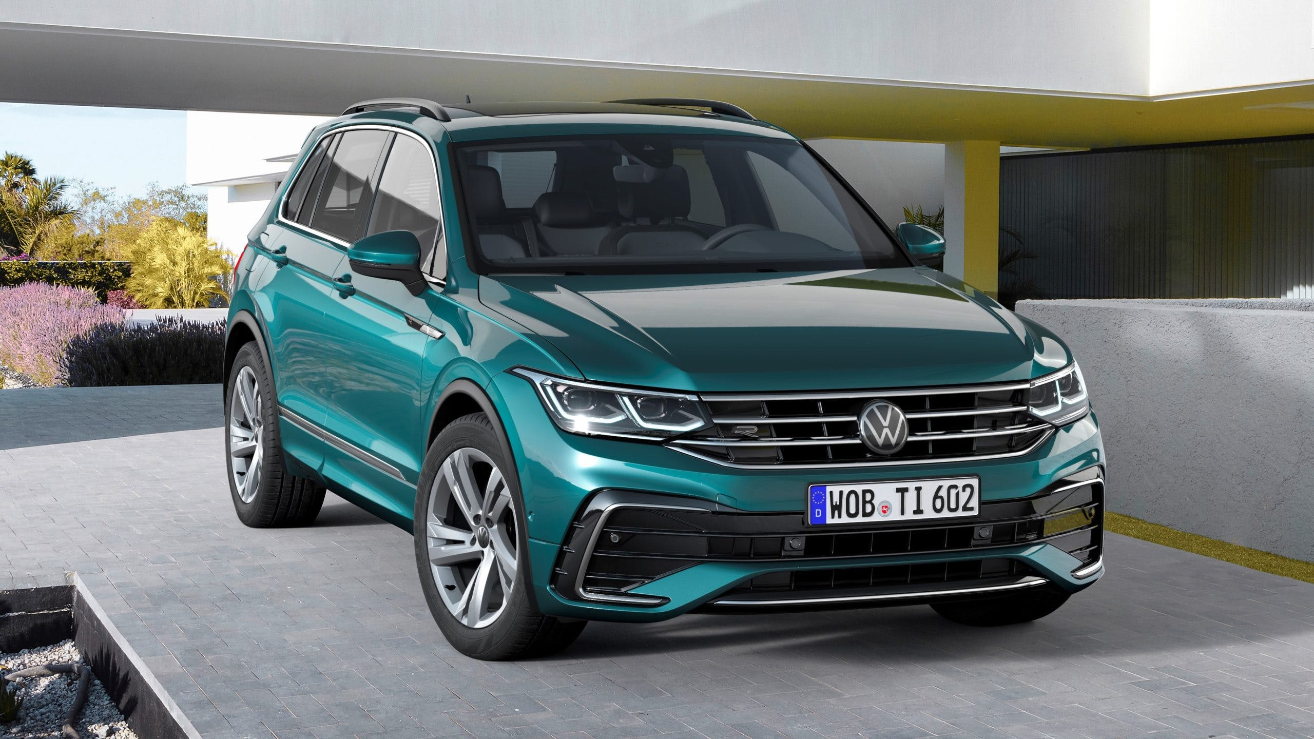 VW Gives the Tiguan a Refresh, More Tech for 2022