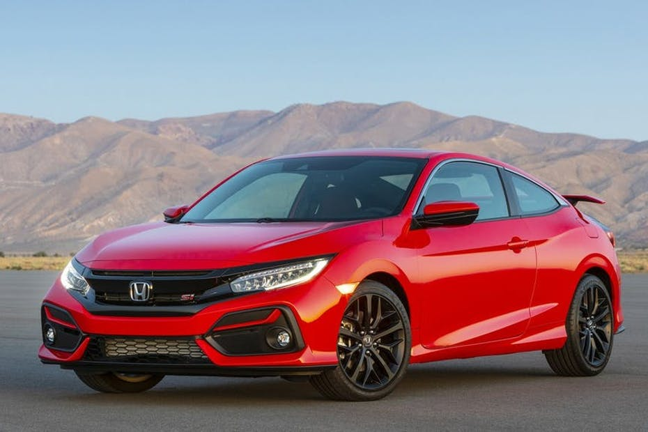2020 Honda Civic Si Coupe / Photo Credit: Honda