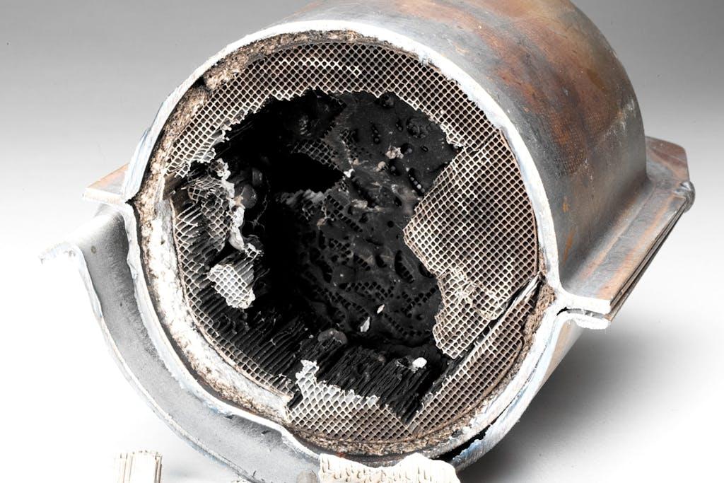 Exhuast system platinum catalyst