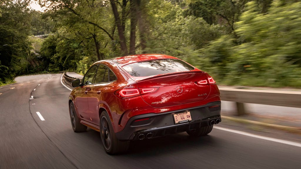 2021 Mercedes-AMG GLE 53 Coupe / Image Credit: Mercedes-Benz