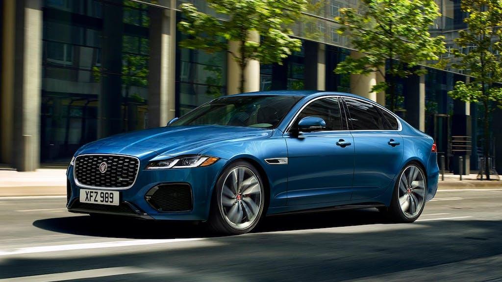 2021 jaguar xf preview: new face, tech for last jag sedan