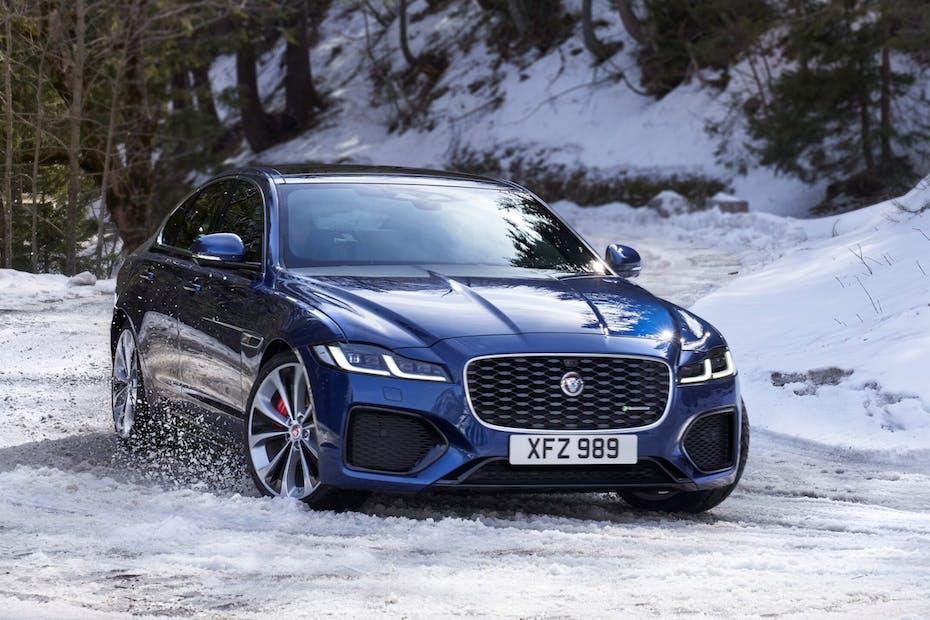 2021 Jaguar XF / Photo Credit: Jaguar