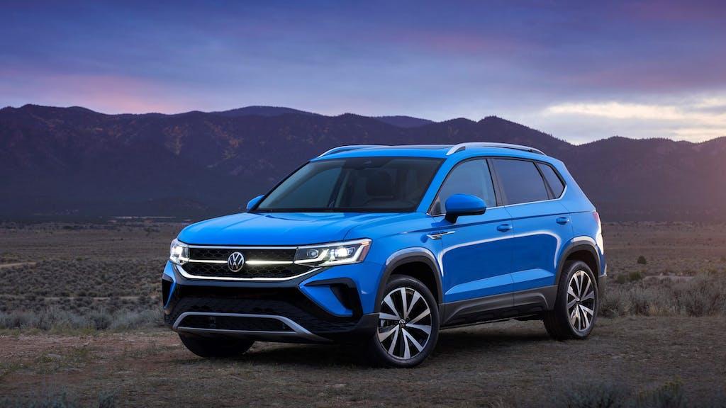 2022 Volkswagen Taos / Photo Credit: Volkswagen