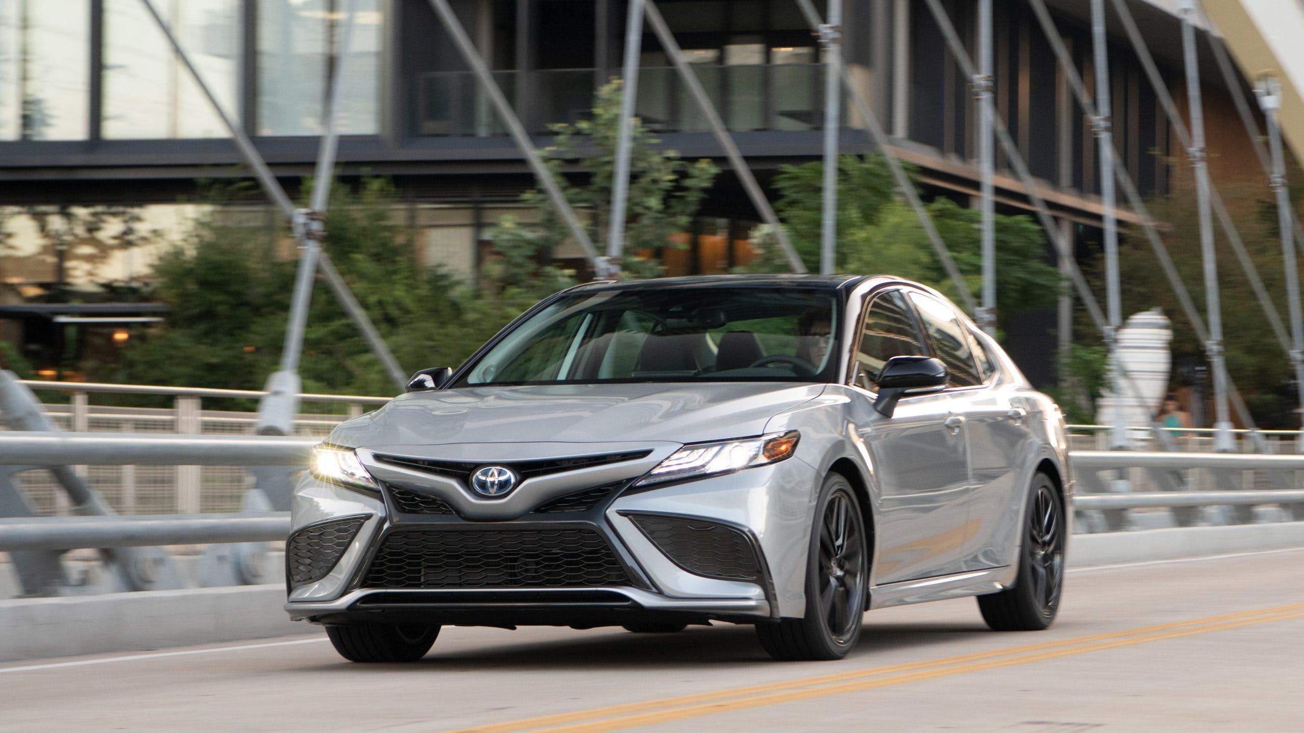 2021 Toyota Camry Hybrid / Photo Credit: Toyota
