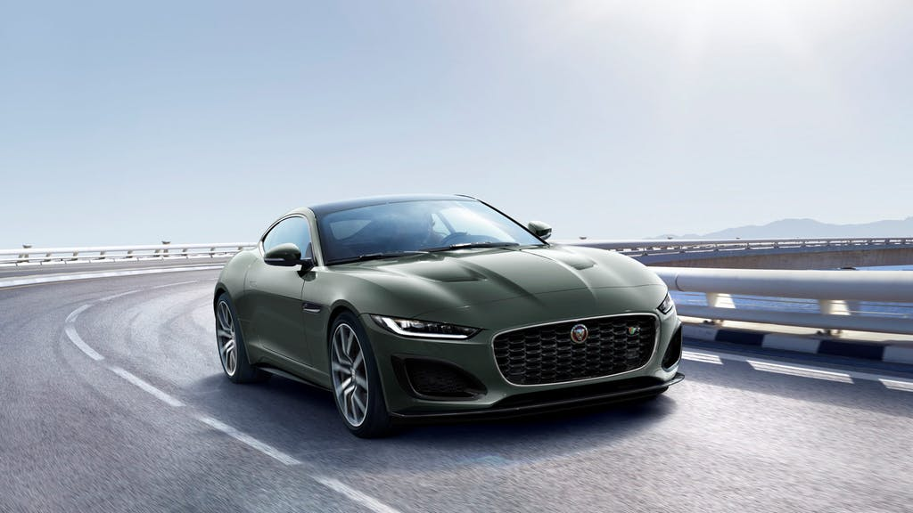 2021 Jaguar F-Type / Photo Credit: Jaguar