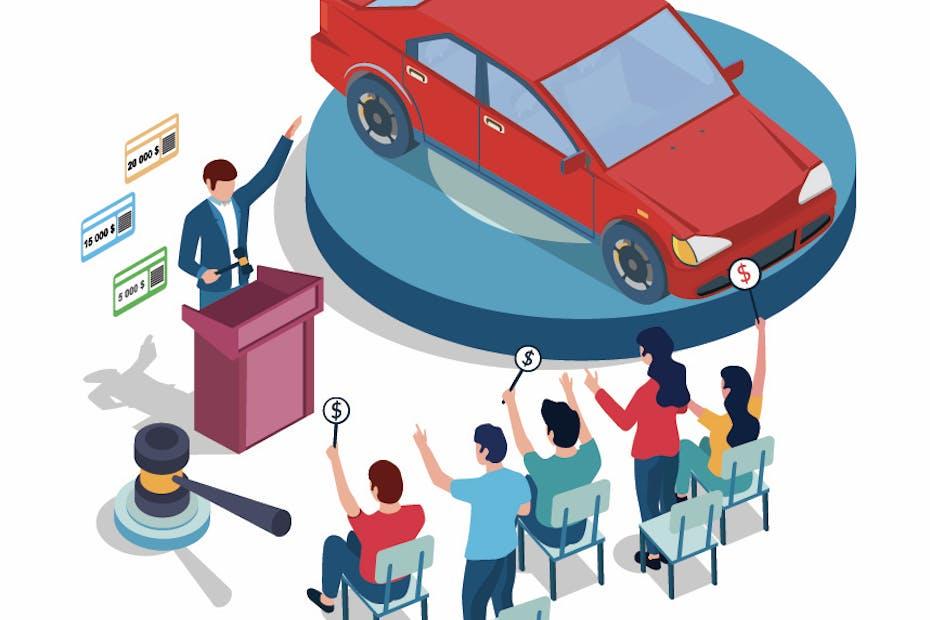 Automotive auction