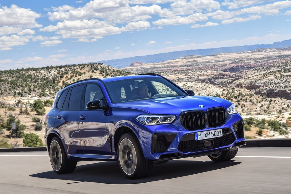 2021 BMW X5 M Competition / Photo Credit: BMW