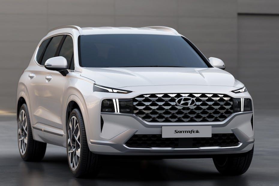 2021 Hyundai Santa Fe Calligraphy Front