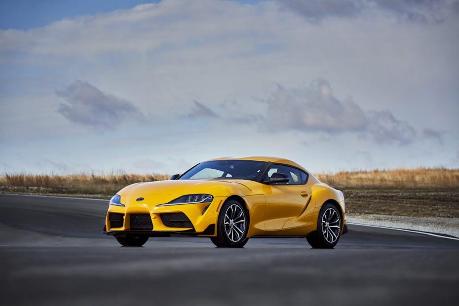 2021 Toyota Supra Front