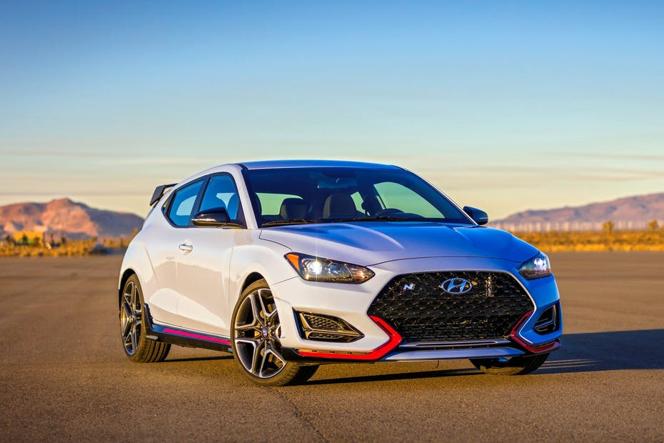 2022 Hyundai Veloster N Front