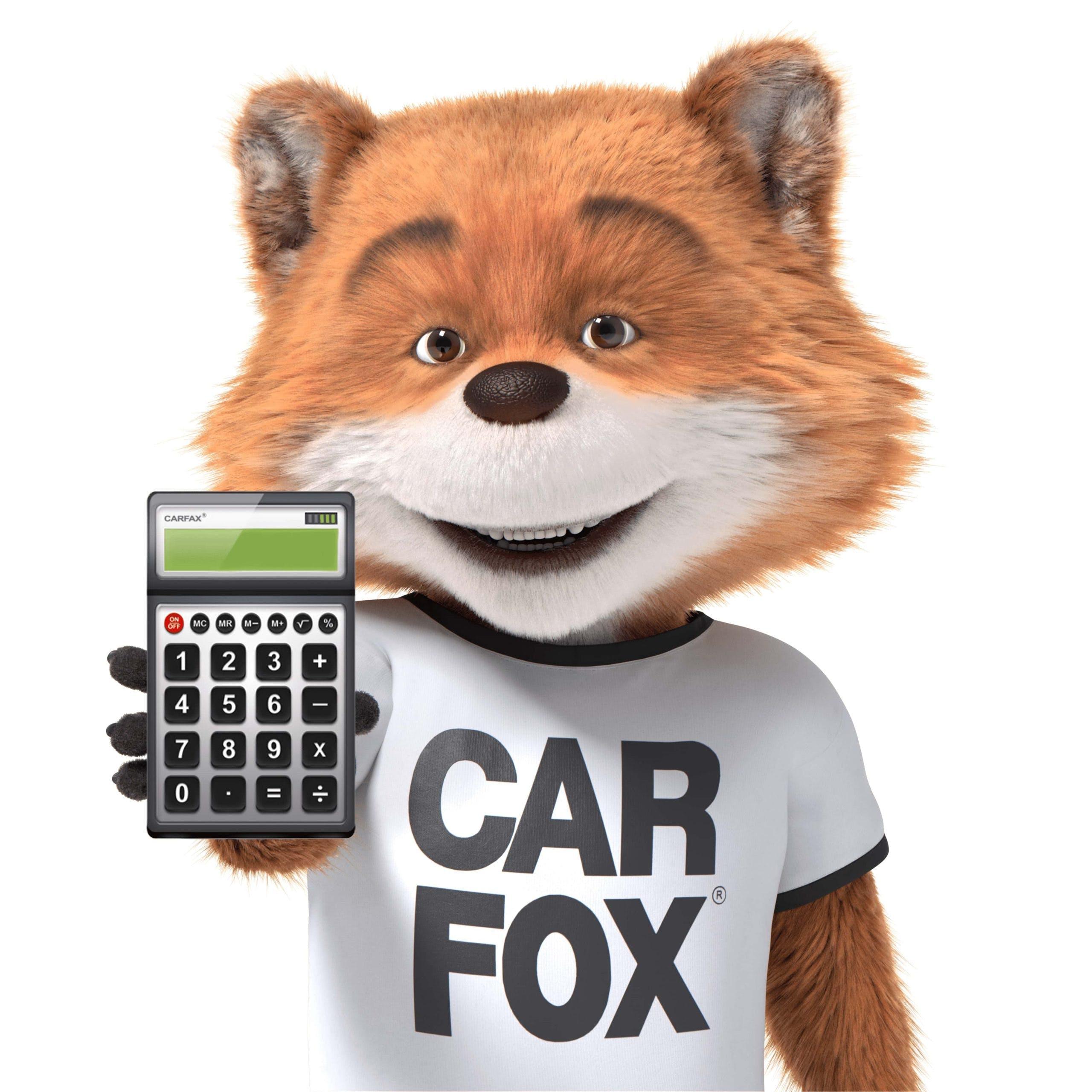 Carfax Car Fox With Calculator